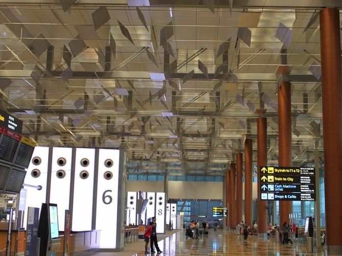 Số 16. Sân bay Singapore Changi (SIN): 55.449.000 hành khách vào năm 2015