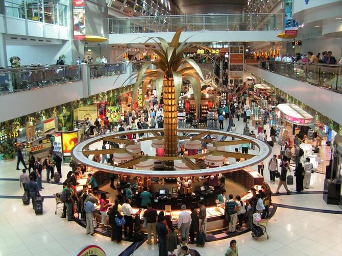 Số 3. Dubai International Airport (DXB): 78.010.265 hành khách vào năm 2015