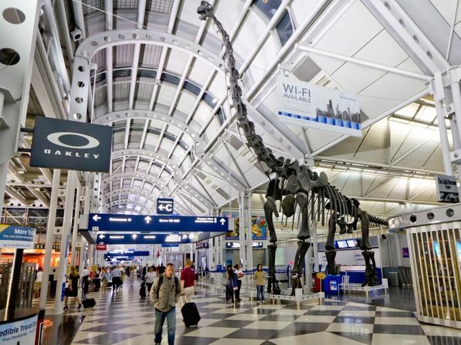 Số 4. Chicago O'Hare International Airport (ORD): 76.949.504 hành khách vào năm 2015