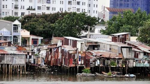 """Những khu nhà """"ổ chuột"""" ở TPHCM."""