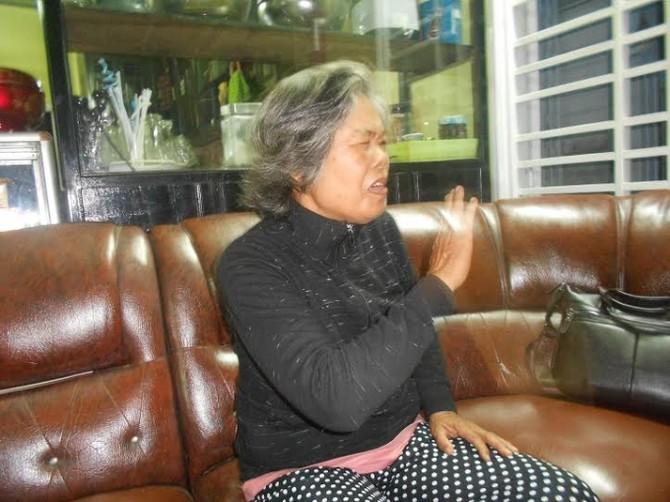 Bà đồng thị Lan, ngụ tại xã Ninh An- Thị xã ninh Hòa bức xúc về nhà máy xử lý rác thải nguy hại.