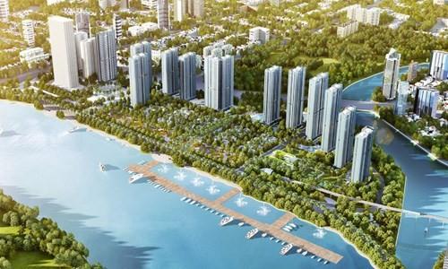 Sài Gòn bùng nổ bất động sản mặt tiền sông