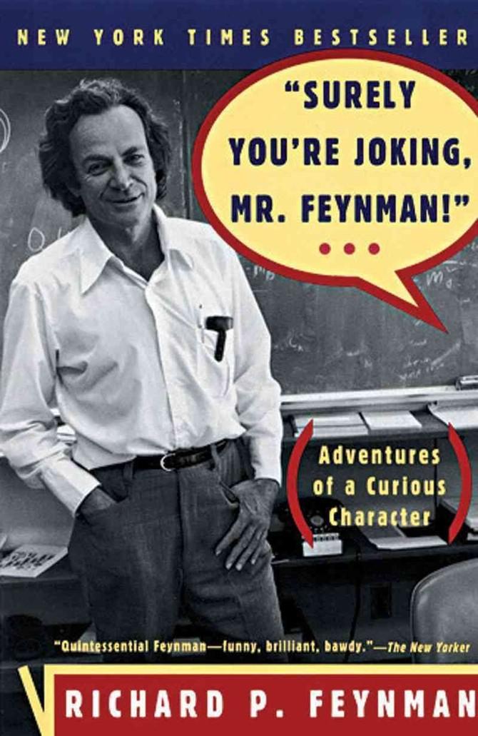 """Trang của Google đồng sáng lập Sergey Brin nói """"Chắc chắn Bạn đang nói đùa, ông Feynman!"""", Cuốn tự truyện của nhà vật lý nổi tiếng thế giới Richard P. Feynman, hoàn toàn thay đổi cuộc sống của mình."""