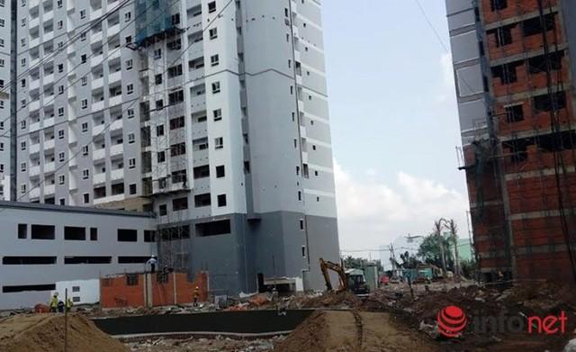 Dự án HQC Plaza vẫn đang trong quá trình hoàn thiện.