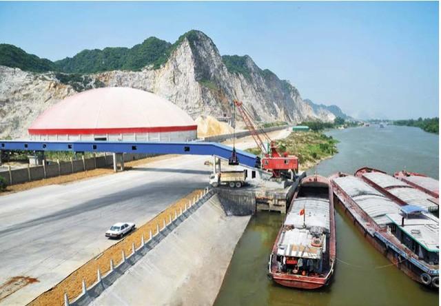 Nhà máy xi măng Xuân Thành Quảng Nam với công suất 1,3 triệu tấn xi măng/năm