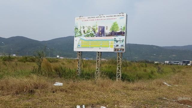 Một dự án khu phức hợp nghỉ dưỡng cao cấp tại bờ sông Hàn cũng án binh bát động gần 7 năm nay.