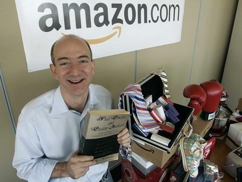 Jeff Bezos - nhà sáng lập hãng thương mại điện tử Amazon. Ảnh: BI