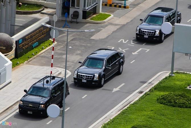 Cadillac One cua Tong thong Obama tren duong pho Sai Gon hinh anh 5