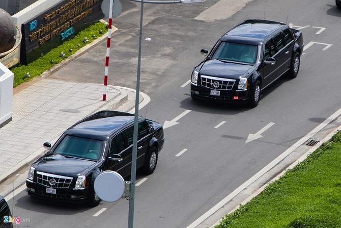 Cadillac One cua Tong thong Obama tren duong pho Sai Gon hinh anh 6