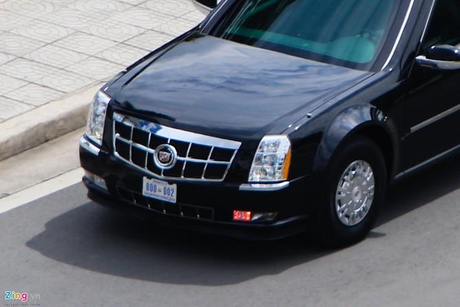 Cadillac One cua Tong thong Obama tren duong pho Sai Gon hinh anh 8
