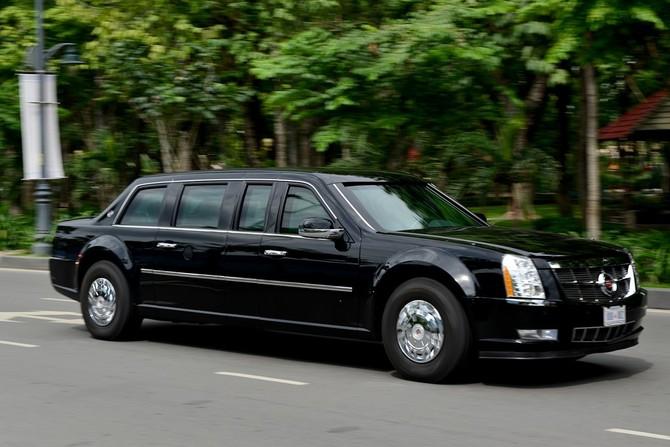 Cadillac One cua Tong thong Obama tren duong pho Sai Gon hinh anh 10