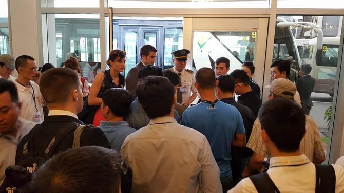 [TRỰC TIẾP] Tổng thống Obama giao lưu với doanh nhân, ông Đinh La Thăng đến dự - ảnh 48