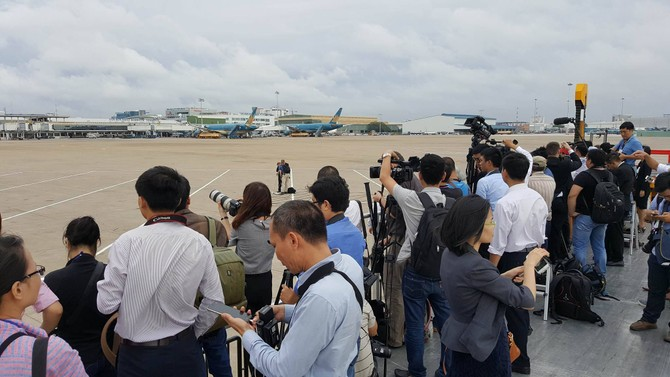 [TRỰC TIẾP] Tổng thống Obama giao lưu với doanh nhân, ông Đinh La Thăng đến dự - ảnh 41
