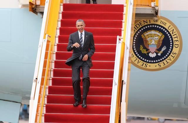 [TRỰC TIẾP] Tổng thống Obama giao lưu với doanh nhân, ông Đinh La Thăng đến dự - ảnh 26