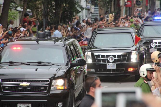 [TRỰC TIẾP] Tổng thống Obama giao lưu với doanh nhân, ông Đinh La Thăng đến dự - ảnh 16