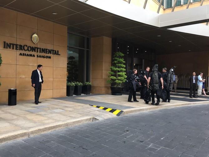 [TRỰC TIẾP] Tổng thống Obama giao lưu với doanh nhân, ông Đinh La Thăng đến dự - ảnh 8