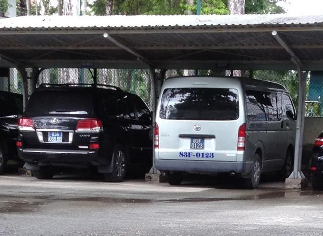 Soc Trang mua 4 xe Lexus tu tien xu phat vi pham giao thong hinh anh 3