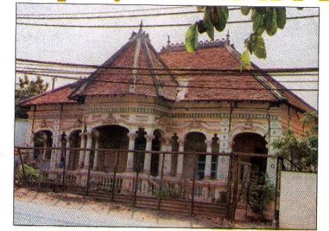 Căn biệt thự của Pháp tại số 237 Nơ Trang Long (quận Bình Thạnh) được chụp năm 2000.