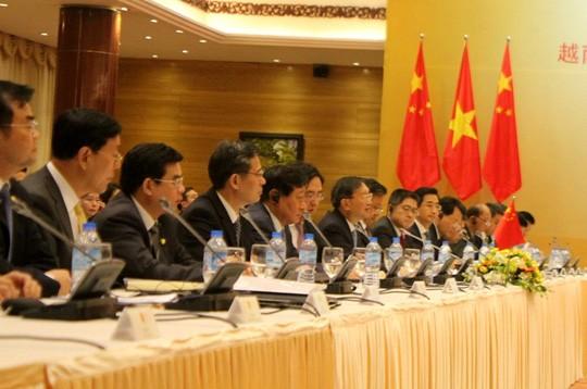 Đoàn Trung Quốc do Ủy viên Quốc vụ Dương Khiết Trì làm trưởng đoàn