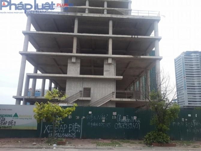 Khởi công vào tháng 5/2011, đến nay đã hơn 5 năm, dự án vẫn chưa được hoàn thành.
