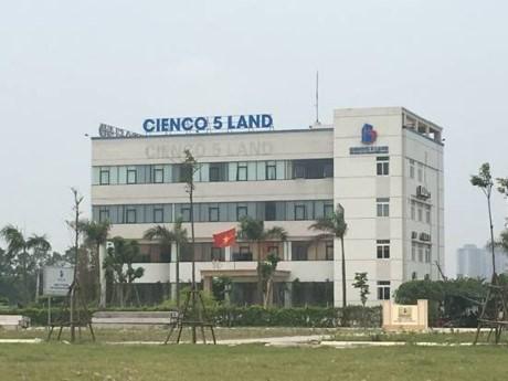 Từ năm 2010 đến nay, vốn điều lệ của Cienco 5 tại Cienco 5 - Land chỉ có 5%.