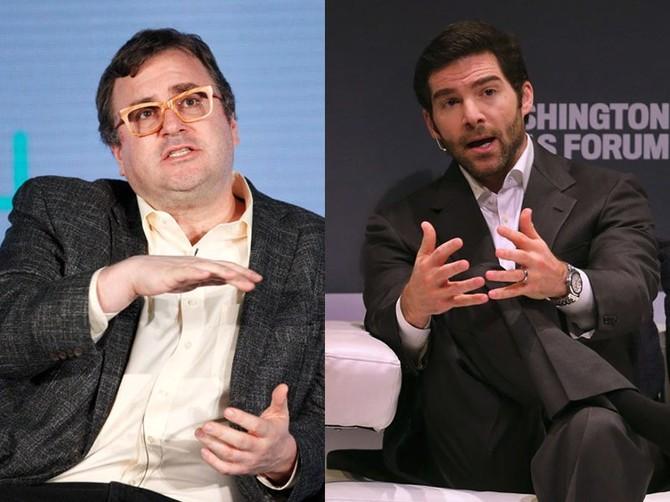 5. Reid Hoffman và Jeff Weiner