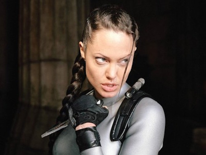 Angelina Jolie collects weapons