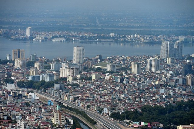 Khu vực quận Ba Đình, Tây Hồ không có nhiều dự án do quỹ đất hạn chế.