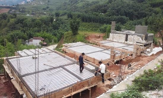 Dự án đang tiếp tục xây dựng các hạng mục theo đúng tiến độ đã được cấp phép