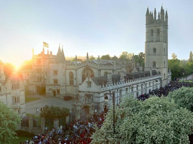 Số 5 - Đại học Oxford (Vương quốc Anh)