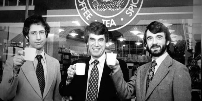 Đó là tại Hammarplast rằng ông lần đầu tiên gặp Starbucks. Các quán cà phê đã có một vài cửa hàng ở Seattle và làm anh chú ý khi họ đặt hàng một số lượng lớn bất thường của máy pha cà phê nhỏ giọt.