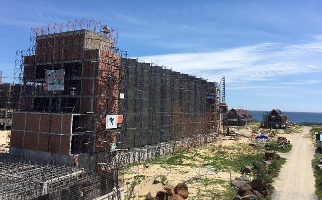 Dự án khách sạn thuộc giai đoạn 1 Dự án New Hoi An City đang xây dựng quy mô khoảng gần 400 phòng, đón đầu sự kiện Apec