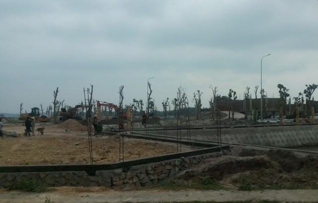Nhiều hạng mục của dự án nghĩa trang 200 tỷ đã được triển khai xây dựng
