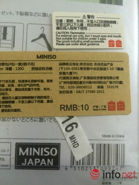 Cua hang Miniso o Ha Noi ban hang Trung Quoc hinh anh 3