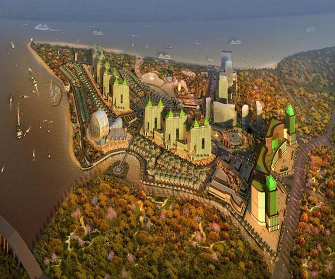 Phối cảnh tổng thể của siêu dự án 6 tỷ USD của nữ đại gia địa ốc kín tiếng nhất Việt Nam