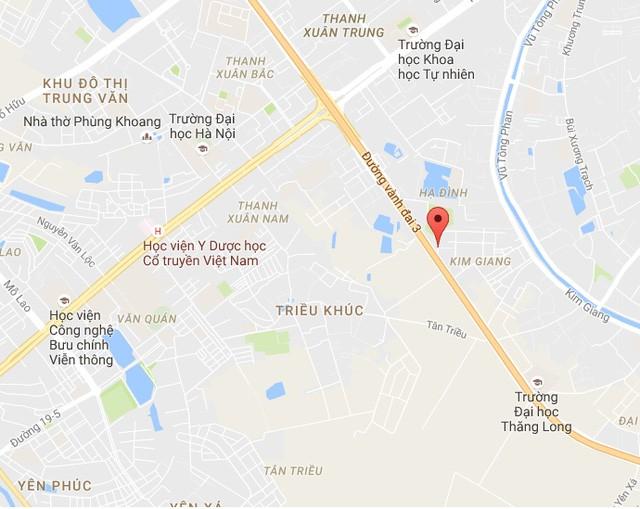 Dự án TTTM Hạ Đình nằm trên đất vàng Nguyễn Xiền tại phường Hạ Đình (quận Thanh Xuân) và xã Tân Triều (huyện Thanh Trì).