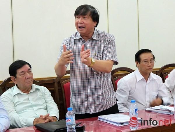 Ông Bùi Văn Tiếng đề nghị các đại biểu HĐND TP Đà Nẵng phải chính thức có ý kiến về việc này tại kỳ họp đang diễn ra (Ảnh: HC)