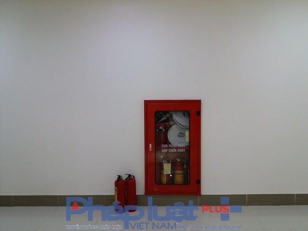 Tiêu lệnhphòng cháy chữa cháy thông báo về những quy định về đảm bảo an toàn phòng chống cháy nổvà chỉ dẫn công tác chữa cháy khi có hỏa hoạn vẫn chưa được lắp đặt.