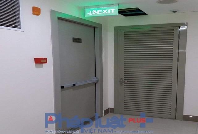 Hệ thống PCCC tại tòa nhà hiện vẫn nằm trong danh sách chưa đủ điều kiện để đi vào hoạt động.