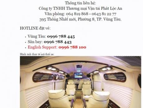 """Xe khach Vung Tau – San Bay """"bua vay"""" Tan Son Nhat - Anh 2"""