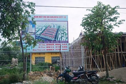 Du an Golden City 10 tai TP Vinh: 'Cam den chay truoc o to', bi dinh chi van tiep tuc xay dung - Anh 4