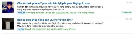 Rao ban iPhone 6S tang vot truoc ngay iPhone 7 ve nuoc - Anh 1