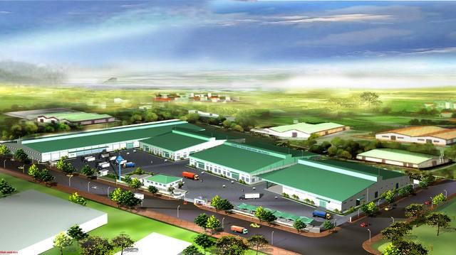 Phác thảo dự án khu công nghiệp Cà Ná - nơi sẽ xây dựng siêu dự án thép của Tôn Hoa Sen