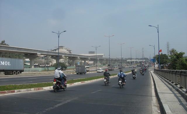 Hạ tầng giao thông được đầu tư rất đồng bộ và hiện đại tại khu Đông sắp đi vào hoạt động