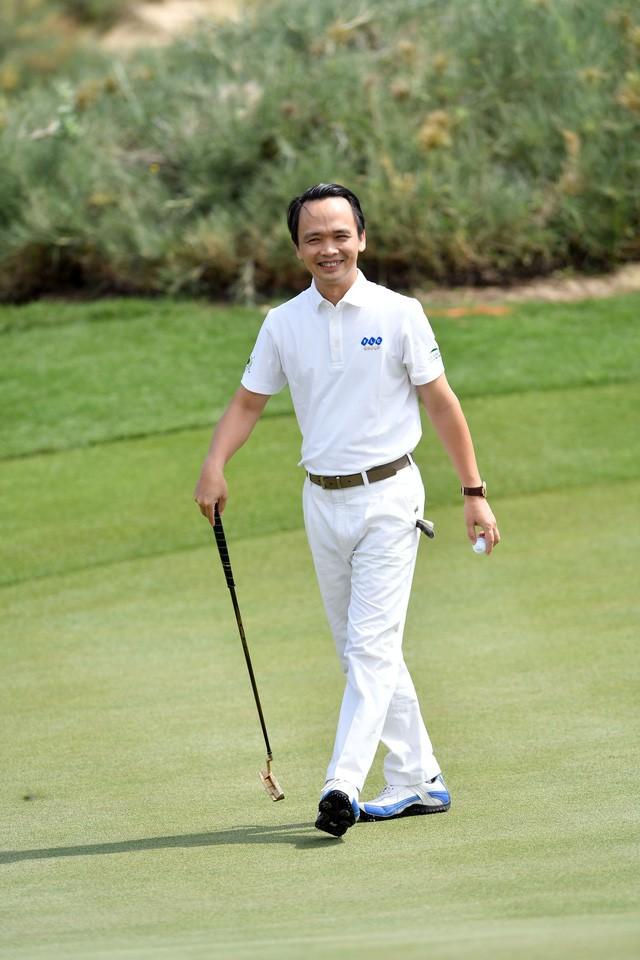 Ông Trịnh Văn Quyết trên sân FLC Quy Nhơn Golf Links
