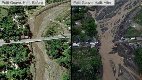 Bao kinh hoang tan pha Haiti, 261 nguoi thiet mang - Anh 6