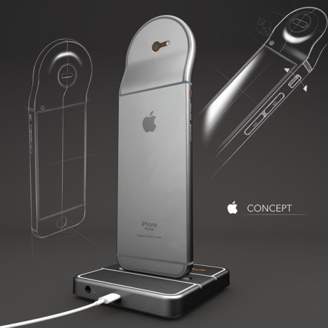 Y tuong iPhone lai dien thoai de ban - Anh 2