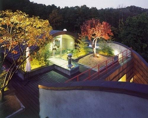 Khu vườn trên mái khiến nơi này trở nên đặc biệt hơn hẳn.