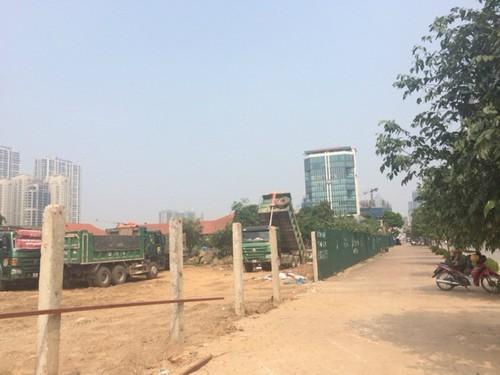 đất vàng Hà Nội, Tập đoàn Nam Cường, các dự án của Nam Cường, dự án trên đất vàng bỏ hoang