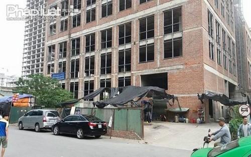 Dự án Apex Tower, dự án trăm tỷ thành bãi giữ xe